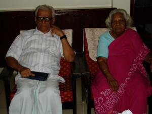The Teacher and the Taught - Prof SRJ with Smt Kalpakam Svaminathan
